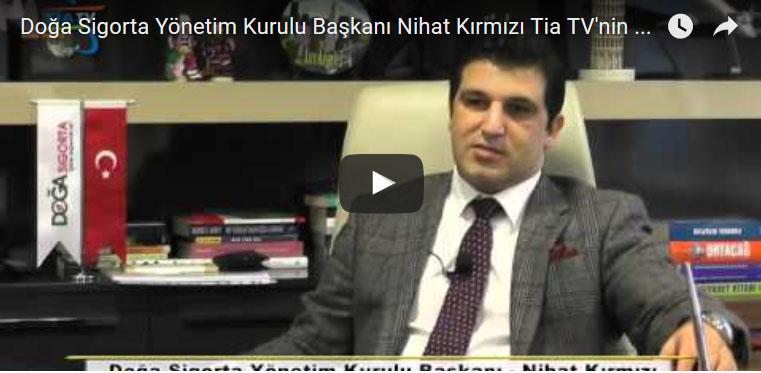 Nihat Kırmızı Tia TV'nin Sorularını Yanıtladı