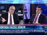 Doga Sigorta CEO'su Nihat Kirmizi , HaberTürk TV Bakış Programın' da Soruları Yanıtladı.