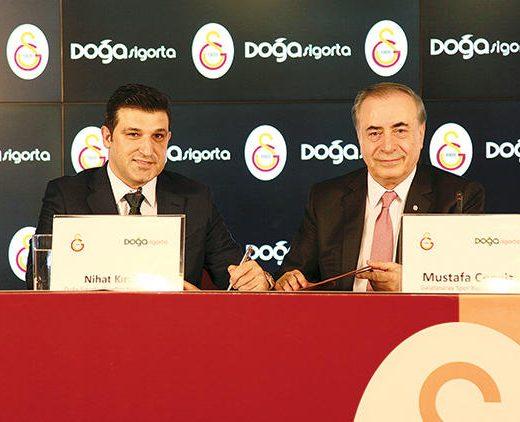 Galatasaray'ın Sponsoru Doğa Sigorta