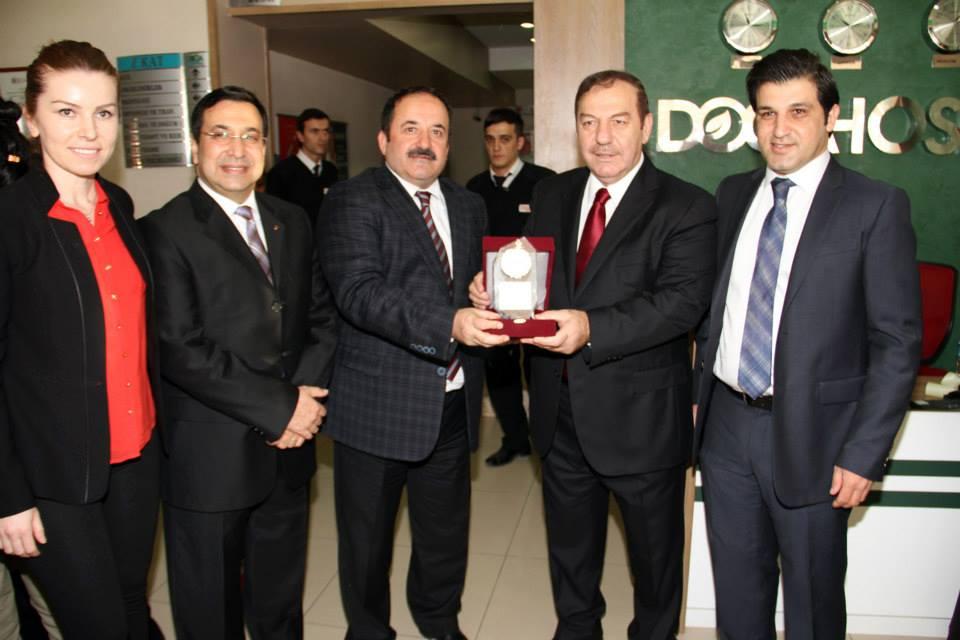 Belediye Başkanı Necmi Kadıoğlu ve Kaymakam Ekrem İnci ile Biraraya Geldik