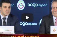 Galatasaray Doğa Sigorta Erkek Basketbol Takımı İsim Sponsorluğu İmza Töreni